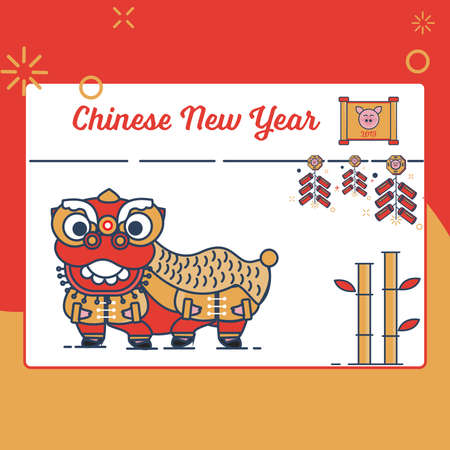 Chinese New Year 2019 Icon