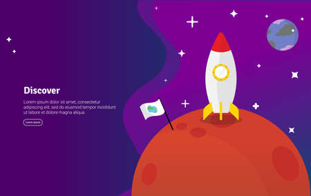 Discover Concept Educational and Scientific Illustration Banner, Suitable For Wallpaper, Banner, Background, Card, Book Illustration or Web Landing Page, and use for marketing, business or promotion