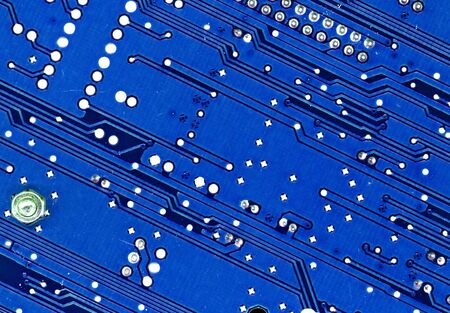 blue circuits Stock Photo - 3420596