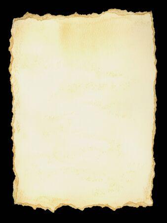 antiqued: handmade paper