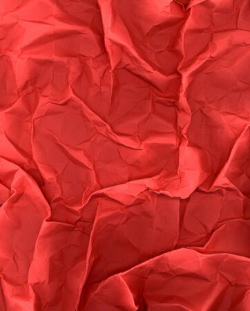 grungey: grunge wrinkled red paper Stock Photo