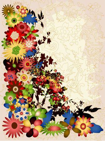 Vintage style design illustration Stock Illustration - 3353841