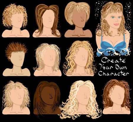 wigs: Create Your Own Character - Glamourous Wigs