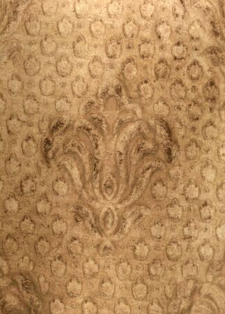 antiqued: wallpaper from an old victorian home