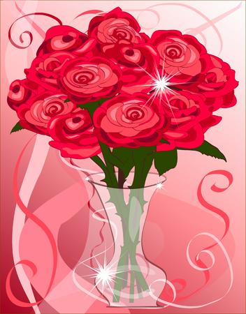Vector Dozen  Roses Vector