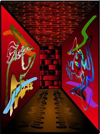 vandal: Graffiti Background
