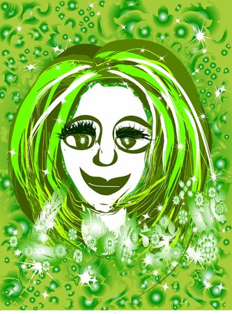 hot chick: Think Green Girl