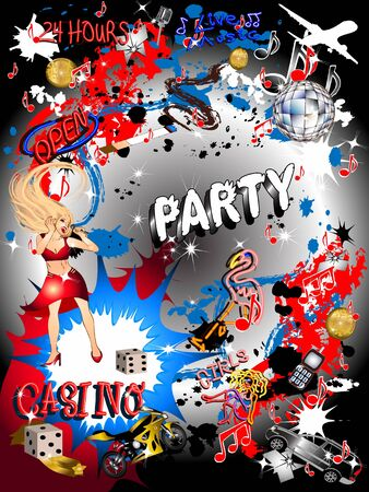 Party Background Stock Photo - 3476983