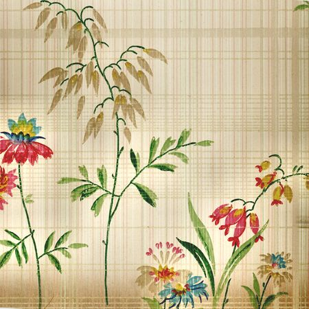 Vintage wallpaper from a very old home built in 1880