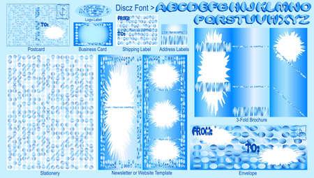 Techno Cool - Stationery Set Stock Photo - 3638721