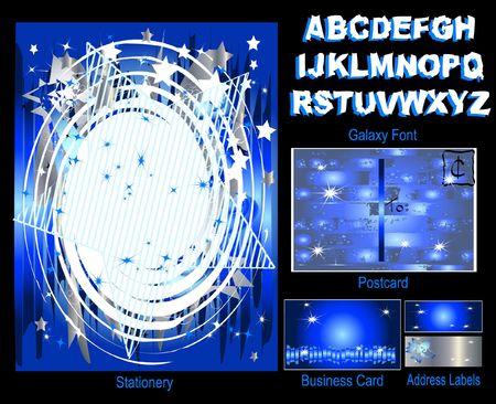 SUPERSTAR - Stationery Set Stock Photo - 3638735