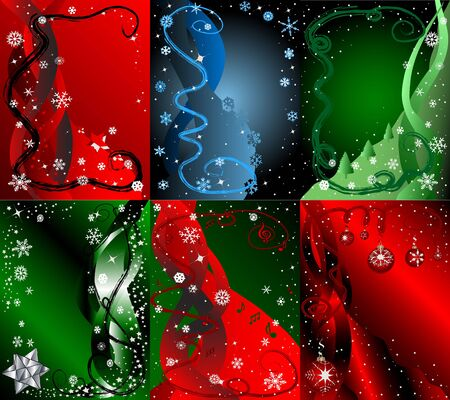 cor:  Modern holiday backgrounds