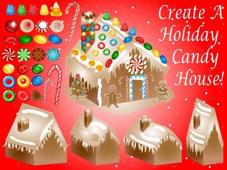 casita de dulces: Dulces casa conjunto