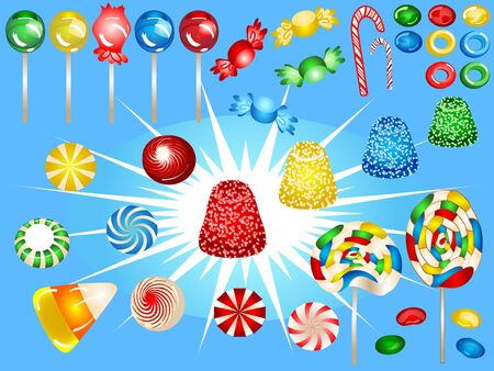 fun candy elements! photo