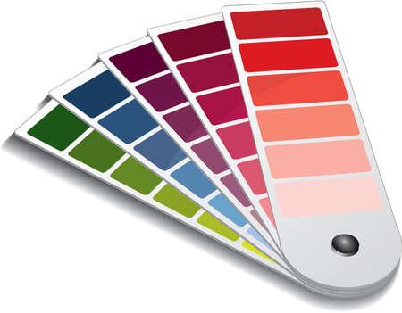 kiválasztás: Pantone color guide