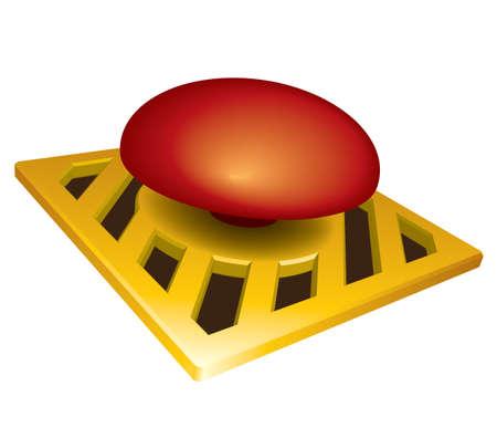 bombe atomique: Lancement de vecteur de bouton