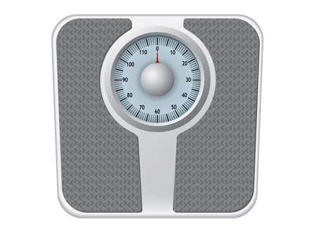 Bathroom scale vector 矢量图像