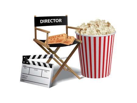 Movie background Stock Vector - 9846072