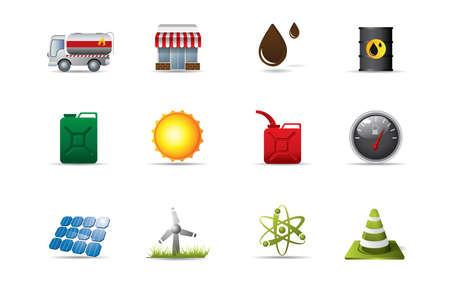 turbina de vapor: Los iconos de la energía