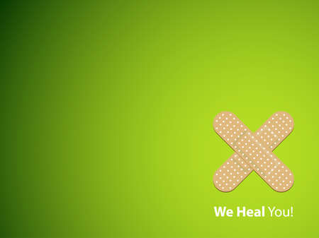 We heal you - background