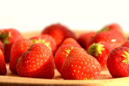 Fresh strawberries Stock Photo - 10896617
