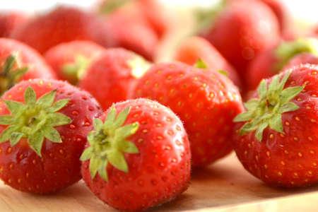 Fresh strawberries Stock Photo - 10896619