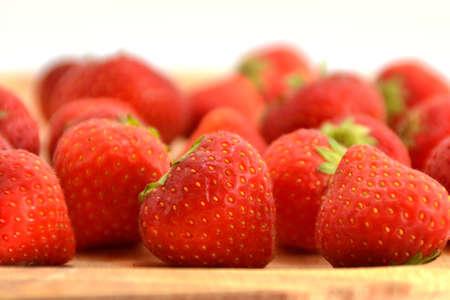 Fresh strawberries Stock Photo - 10896618