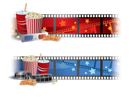 Cinema Banners Stock Vector - 11024865