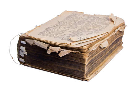 Old dictionary Stock Photo - 12396928