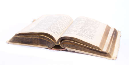 Old dictionary Stock Photo - 12396925
