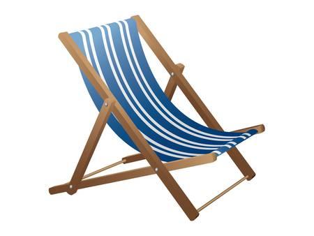 desolation: Beach chair