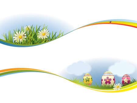 Spring banner Vector