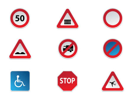 parking sign: Road Signs