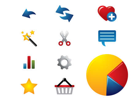cybercafe: Internet browser icons