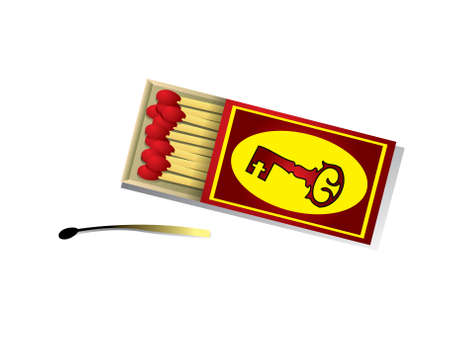 Matches Stock Vector - 14398163