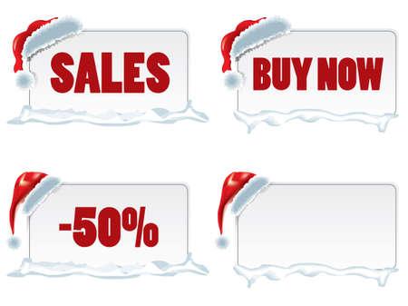 Christmas price tags Stock Vector - 15900656
