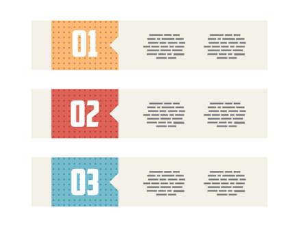 minimalistic: Flat UI Modern Style Minimalistic Banners