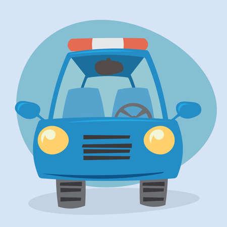 ardor: Cartoon car - front view
