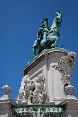 Lisbon - King Jos� I photo