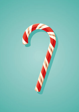 Candy canes Vector Illustration
