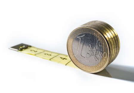 Euro-Maßnahme  Standard-Bild - 1897799