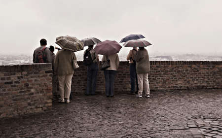 rainy day Banco de Imagens