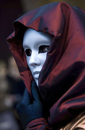 hooded: enigmatic venice mask