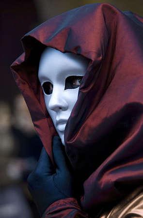 Rätselhaften Venedig Maske Standard-Bild - 3296567