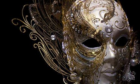 festal: isolati maschera d'oro