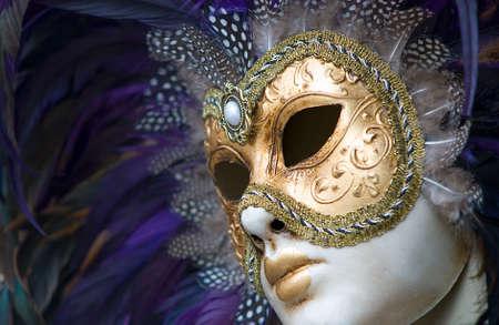 colorful carnival mask Banco de Imagens