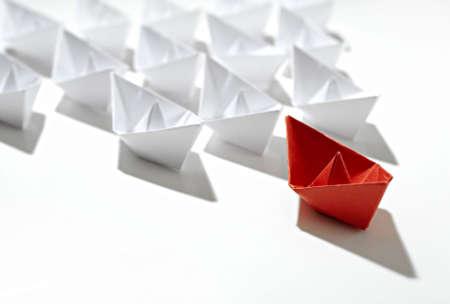 follow the leader: rode leider schip