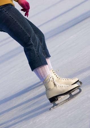 female skater Standard-Bild