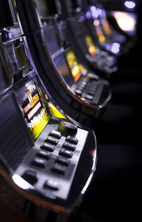 millions: slot machones Stock Photo