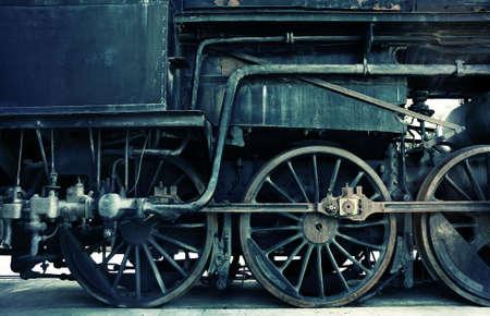 acidic train part Standard-Bild